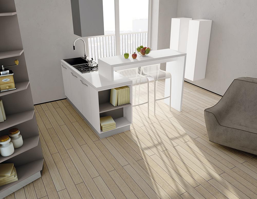 Piccoli spazi in cucina arredali con il modello asia gicinque cucine - Cucine piccoli spazi ...