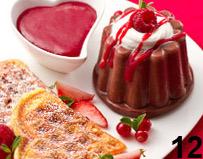 Un amore di ricetta: budino al cioccolato e coulis di lamponi per San Valentino