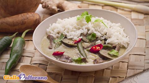 Curry Verde Thai trionfa!
