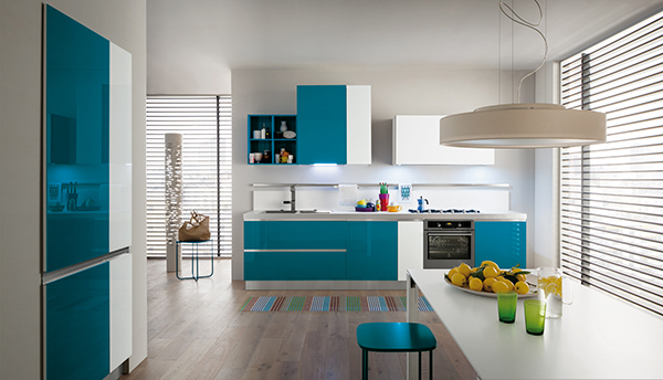 New Myglass collection: the elegance of the glass in the kitchen ...