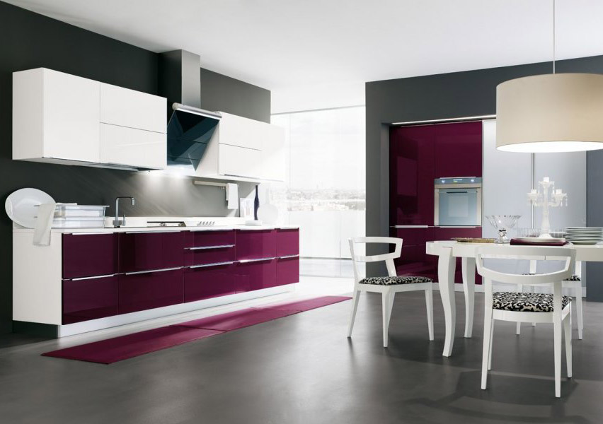 la cucina moderna city di gicinque elegante e sofisticata gicinque cucine. Black Bedroom Furniture Sets. Home Design Ideas