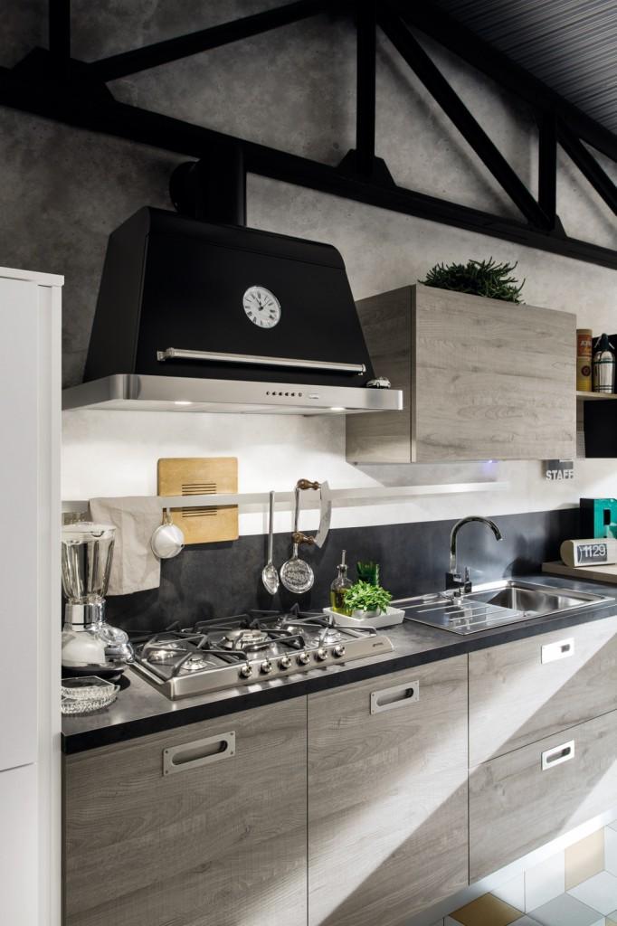 Una cucina stile urban  Gicinque Cucine