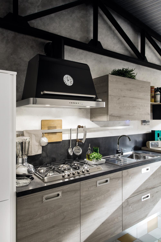 Cucina gicinque oslo urban style gicinque cucine - Cucine urban style ...