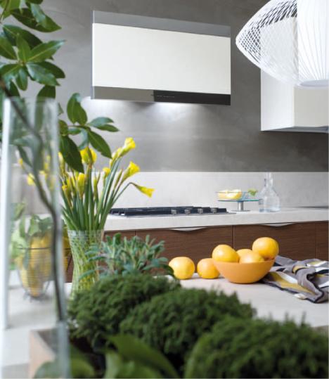 Un onda in cucina gicinque cucine for Cappa cucina moderna