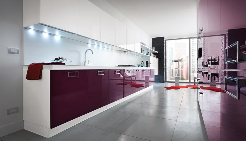 Cucina Slim: equilibrio tra concretezza e originalità | Gicinque Cucine