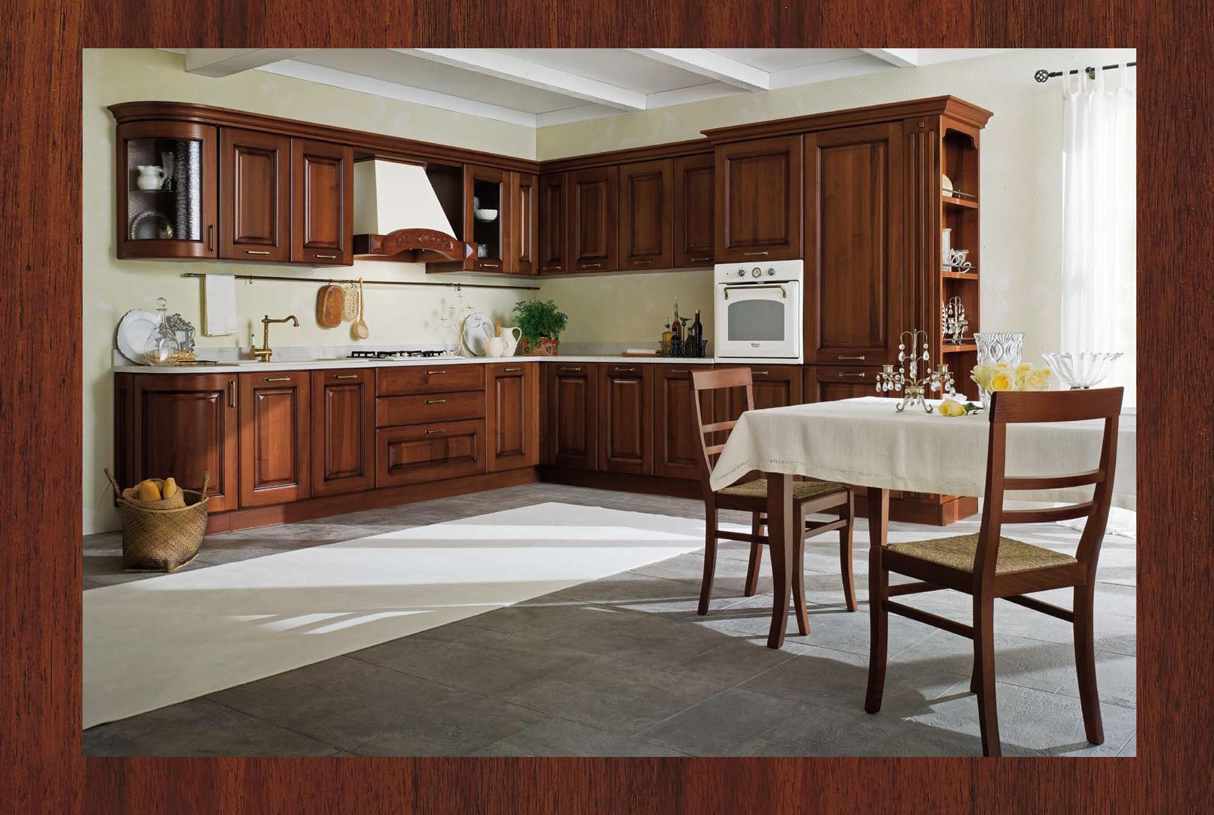 Cucina classica Canova in finitura noce..con ricetta ...