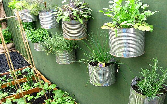 L orto in cucina consigli e idee originali per creare un - Arredare il giardino fai da te ...