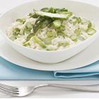 Risotto cremoso agli asparagi: la primavera è servita nella nostra cucina Elite.