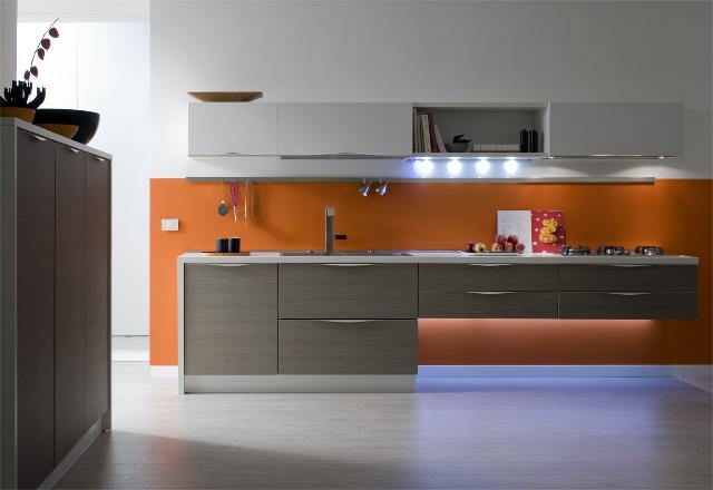 Nuova maniglia arrotondata per le cucine gicinque gicinque cucine - Cucine gicinque ...