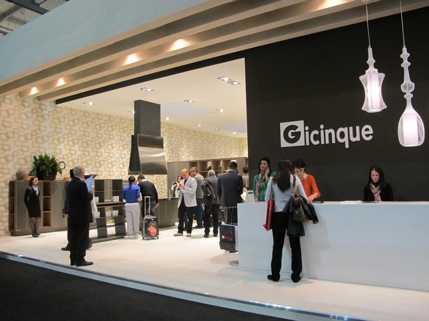 Gicinque al Salone del Mobile 2012: guardate le prime foto e i video dello stand!