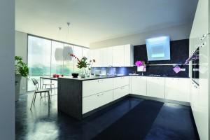 Cucina Primafila ante laccato bianco