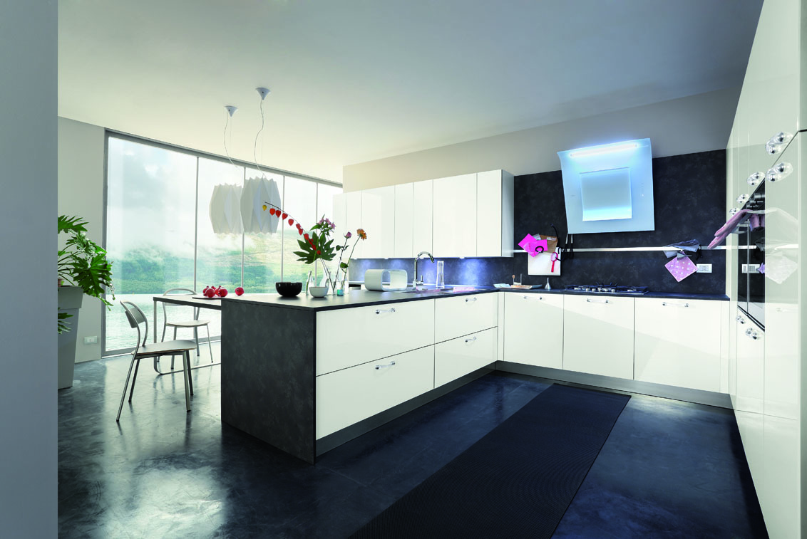 Primafila: shine and colour for a modern style in the kitchen