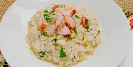 …and the winner is… Risotto allo champagne con aragosta