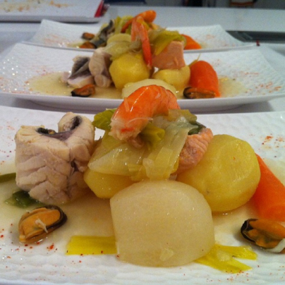 Ricetta di Pomme d'amour: Spezzatino di mare