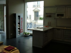 Punto vendita Gicinque a Parigi Arkidekor