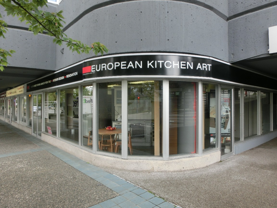 Cucine Gicinque a Vancouver (Canada)