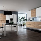 Oslo Kitchen, news 2013: contemporary design linked to the warmth of the wood