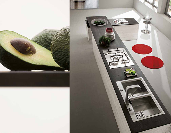 Avocado, a tropical fruit for the Oslo kitchen in Rovere Tavolato (Planked Oak)