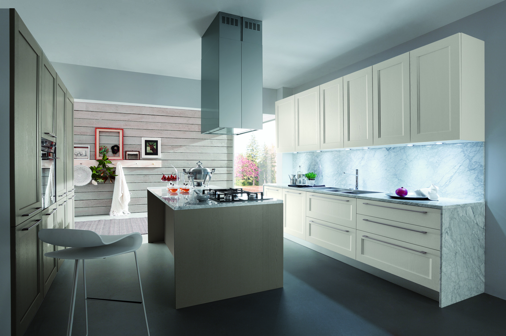 Classic, but not conventional: it is the Elite kitchen by Gicinque