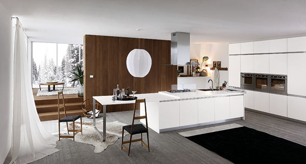 High modularity freedom with the Karisma kitchen
