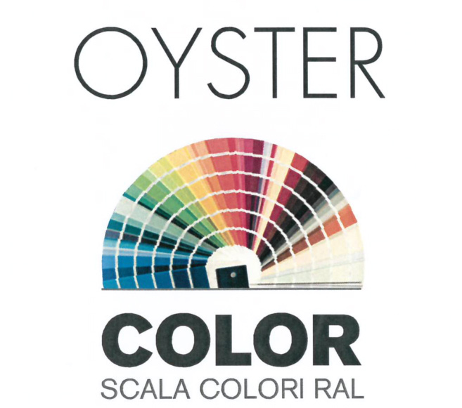 Scala colori Ral per cucina Oyster