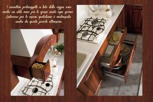 portaoggetti cucina classica canova