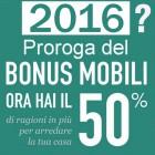Bonus mobili, possibile proroga al 2016?