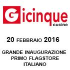 Busto Arsizio 20 febbraio 2016: inaugurazione primo punto vendita monomarca Gicinque!
