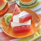 Panna cotta con l'anguria: profumo d'estate nella nostra cucina moderna JOY 1.