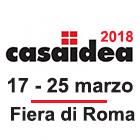 Fiera CASAIDEA 2018 di Roma: Gicinque in mostra con Pultrone Arredamenti.