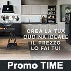 Promozione cucina TIME 2018: progetta e scegli il prezzo della tua cucina!