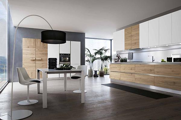 Il fascino intramontabile del bianco in cucina gicinque - Cucina rovere bianco ...
