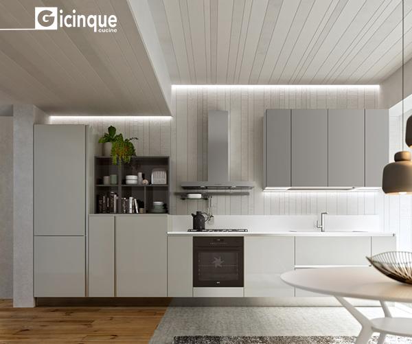 Cucine Scavolini Nuova Collezione : Nuova collezione cucine moderne colors spirito giovane e