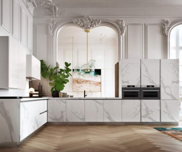 Nuova collezione cucine DE.SIGN STONE: il marmo nella sua ...