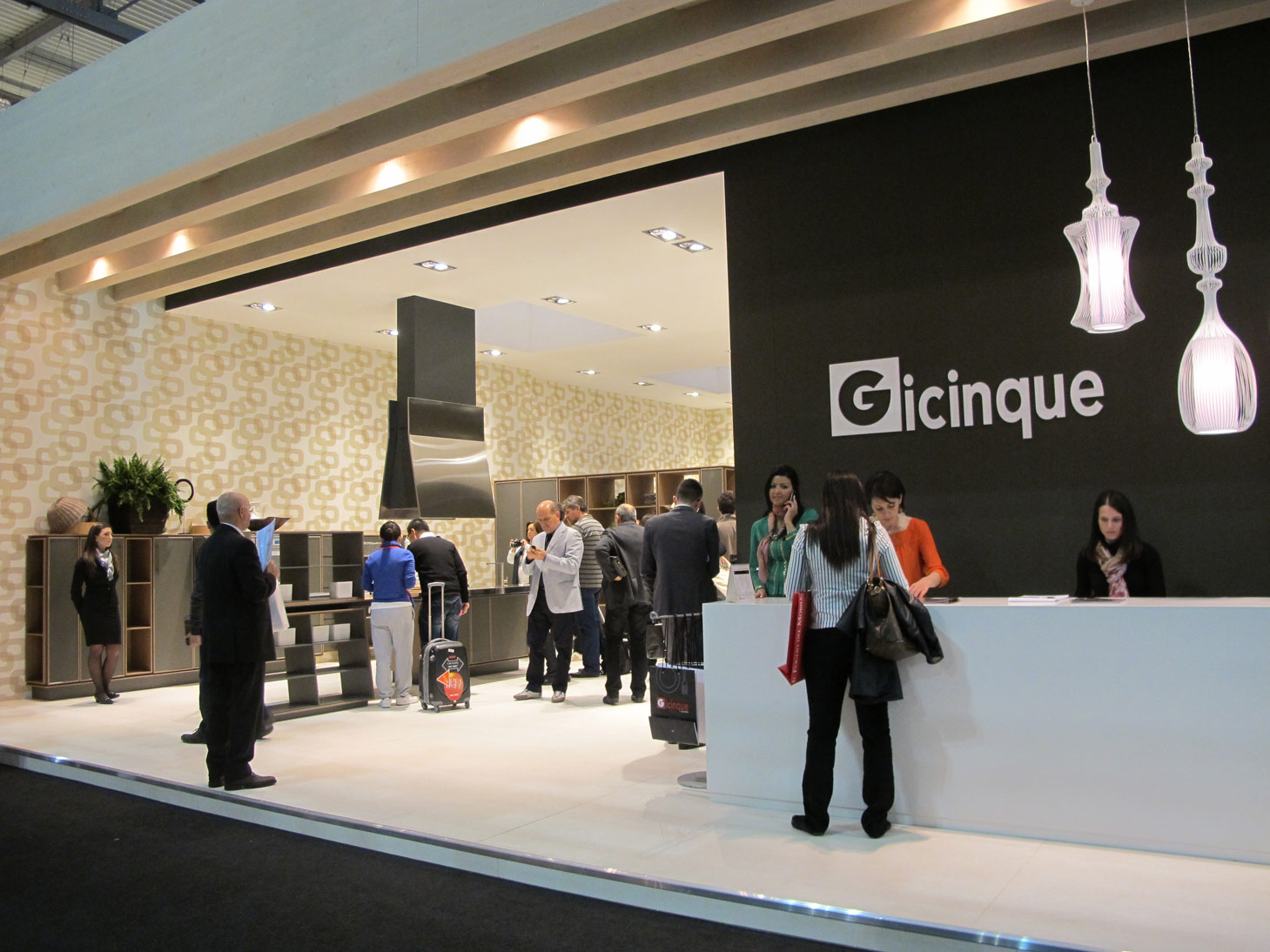 Gicinque al Salone del Mobile 2012: guardate le prime foto e i video dello stand!