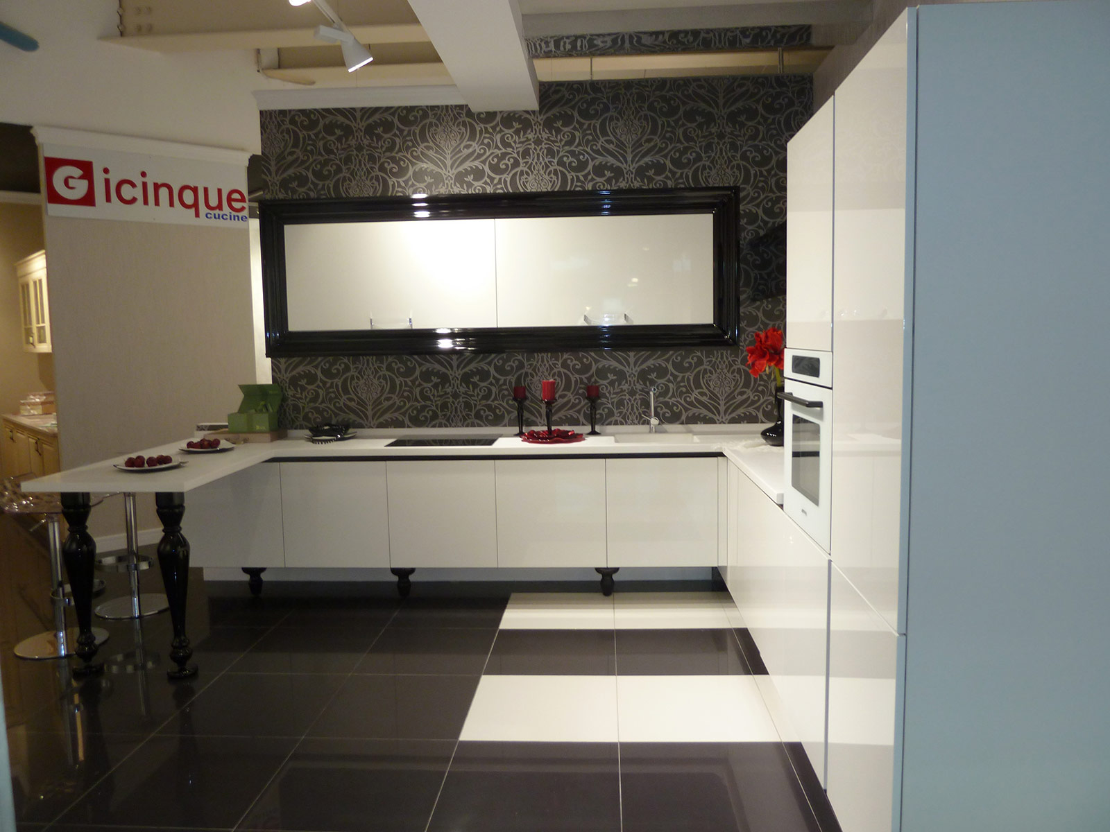 New Gicinque kitchen showroom in Moscow