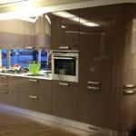 Cucina moderna Kristal di Gicinque in mostra a Vancouver