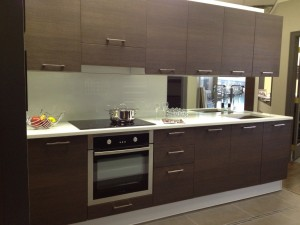 Cucina moderna Joy di Gicinque in mostra a Vancouver